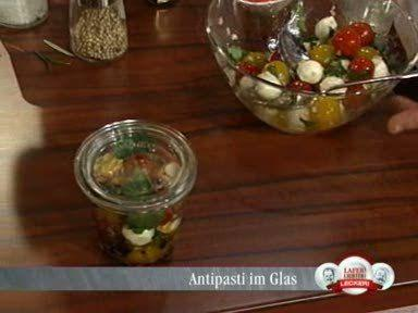 antipasti im glas rezept mit video. Black Bedroom Furniture Sets. Home Design Ideas