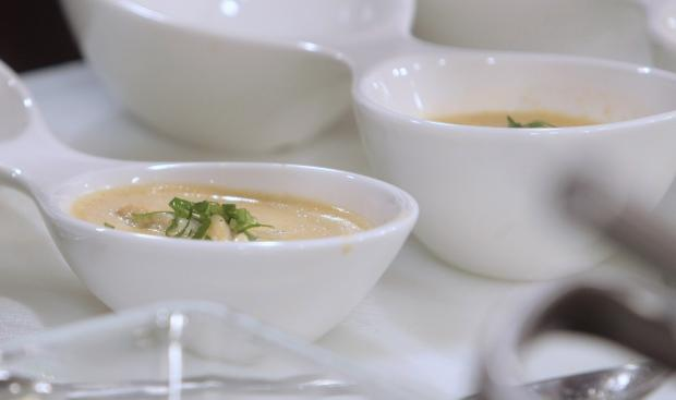 champagner creme suppe